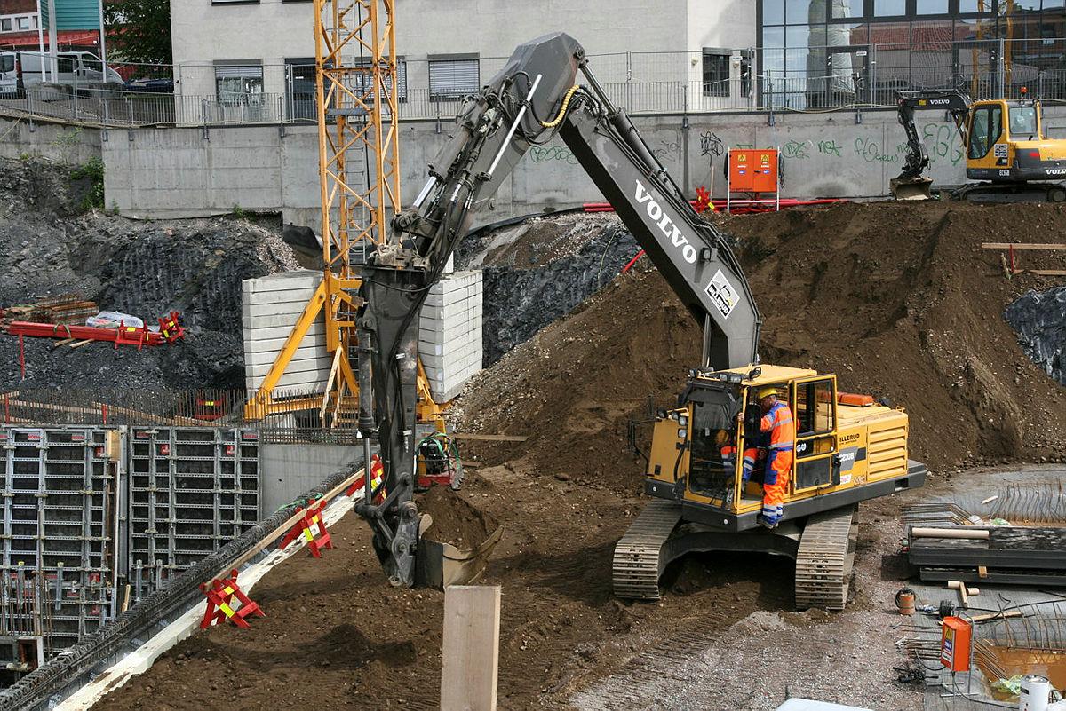 Bild einer Baustelle.